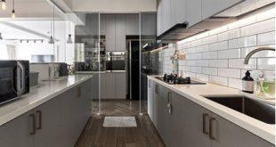 Bếp và chậu rửa nên đặt cách nhau tối thiểu 60cm